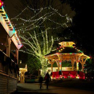 BVM Commercial Christmas Light Installation