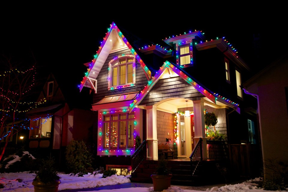 Residential Lighting - Multicoloured Strawberry Lights
