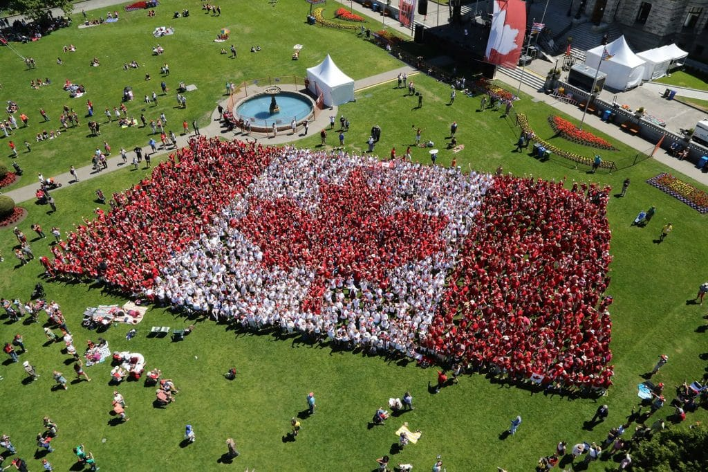 Living Flag - Canada Day