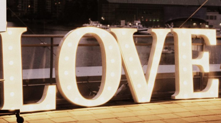 Event Lighting - Love - Marquee Sign