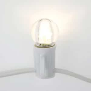 Wedding Lights - FestiLight Bulbs - Super Bright Globe String Lights (G30s)