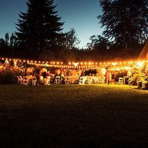 Special Event Installation - Warm White - Outdoor String Lights - Portable Wedding Lighting