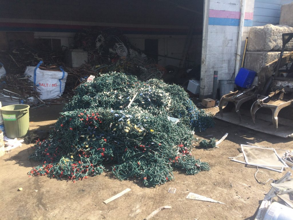 Recycled Christmas Lighting - 2500lb